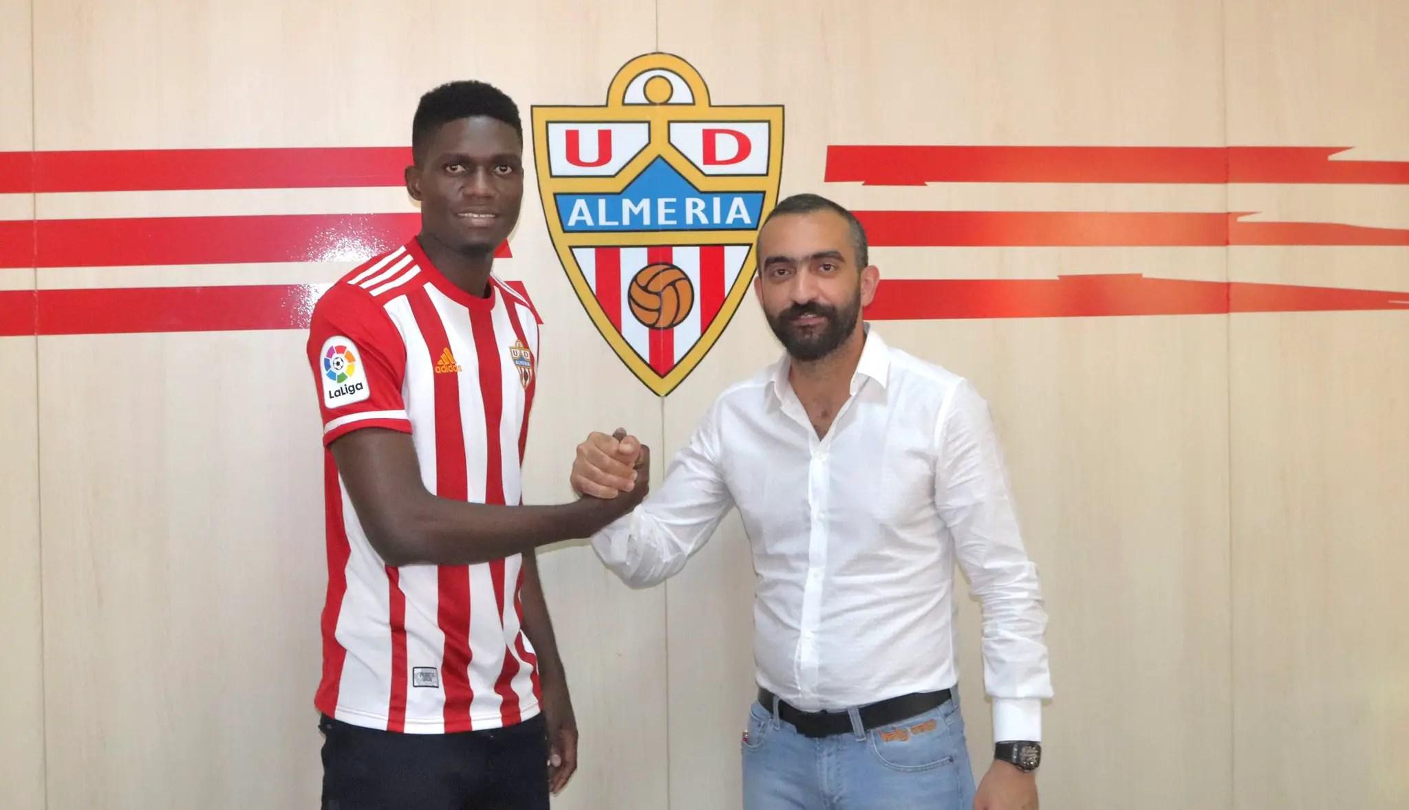 Ozornwafor Joins Almeria On One-Season Loan From Galatasaray