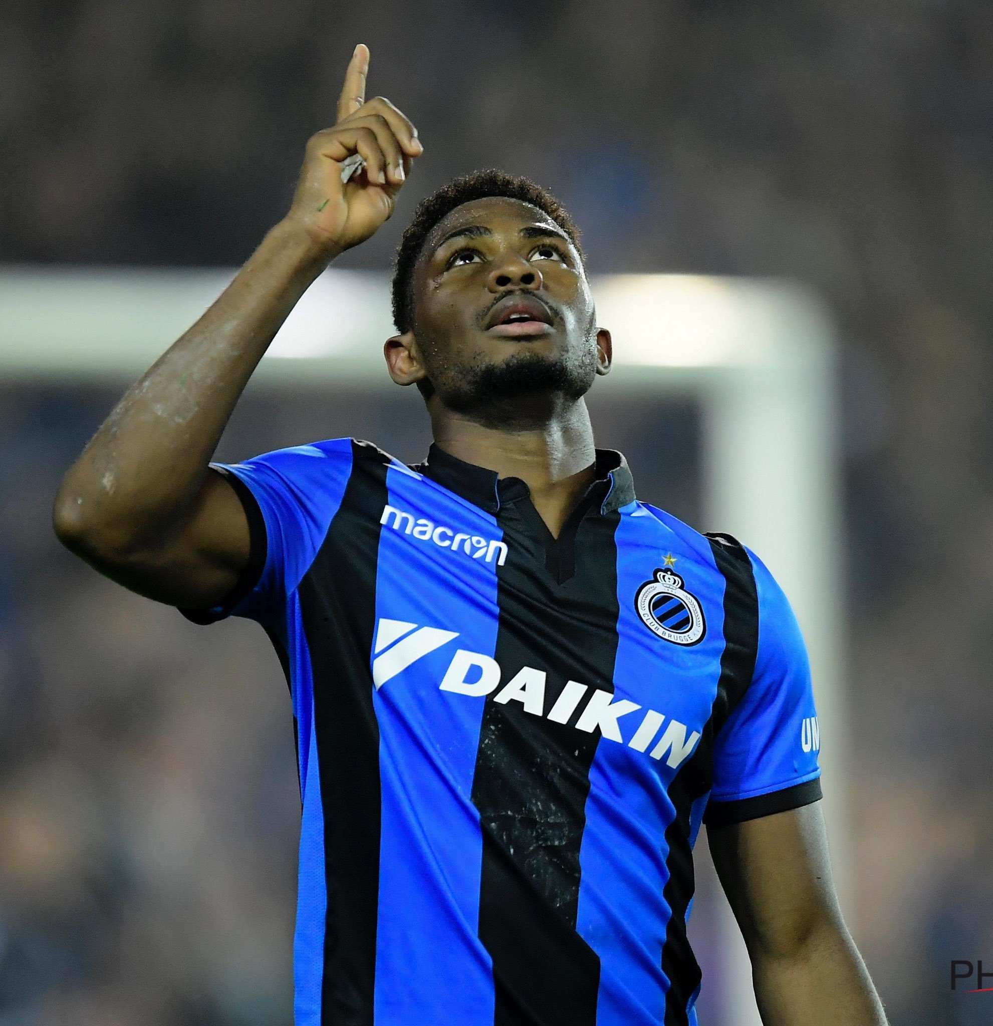 UCL Play-Offs: Dennis Helps Brugge Seal Group Stage Spot, Olayinka's Slavia Prague Also Through
