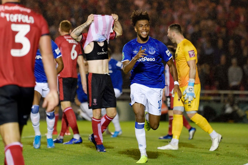 Iwobi Hungry To Create More Special Everton Memories After Scoring In Carabao Cup Win At Lincoln City