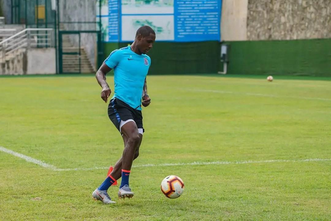 Ighalo Close To Return From Injury Layoff, Resumes Training With Shenhua