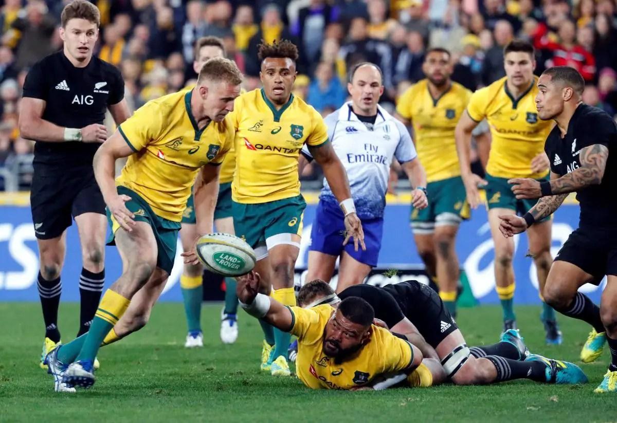 Aussies Hammer All Blacks In Perth