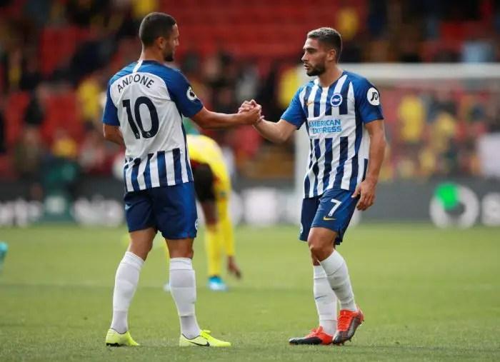 Brighton v West Ham Team News