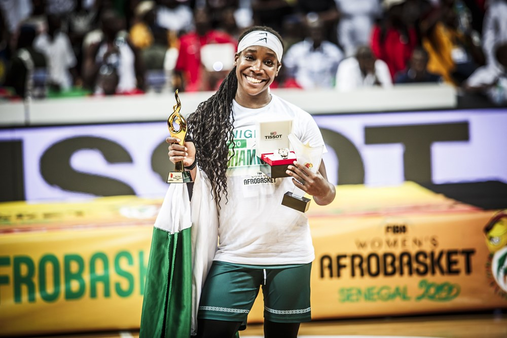 Hughley, MVP Kalu Relish D'Tigress' FIBA Afrobasket 2019 Success