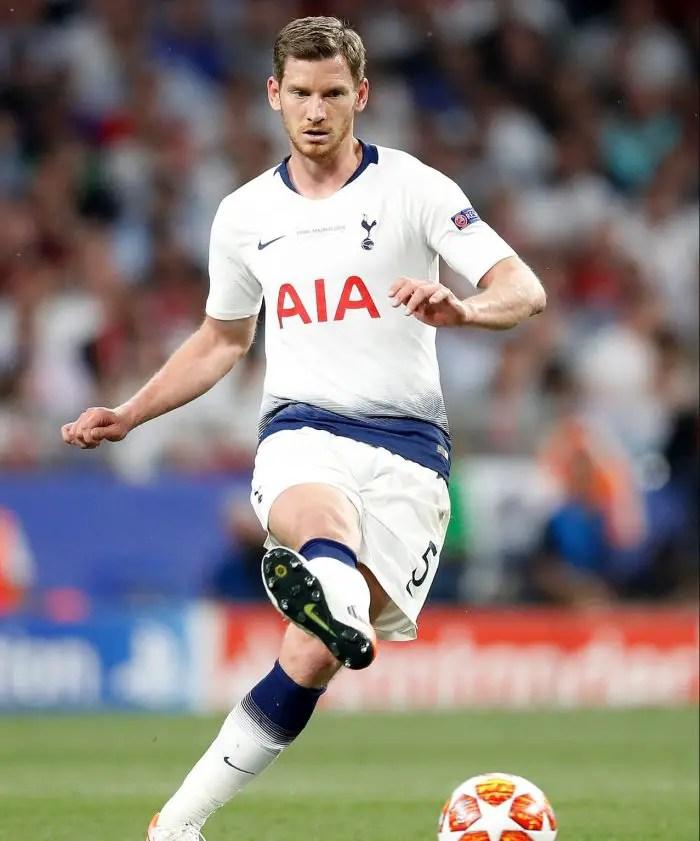Vertonghen Keen On Spurs Extension