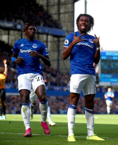 Sigurdsson happy with Iwobi's impressive start to Everton Career