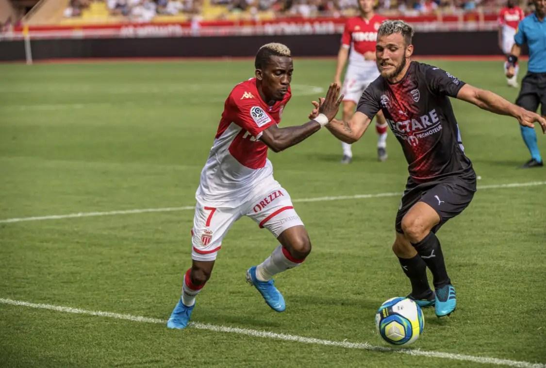 Onyekuru Seeks 3rd Start, First Goal For Monaco At Reims