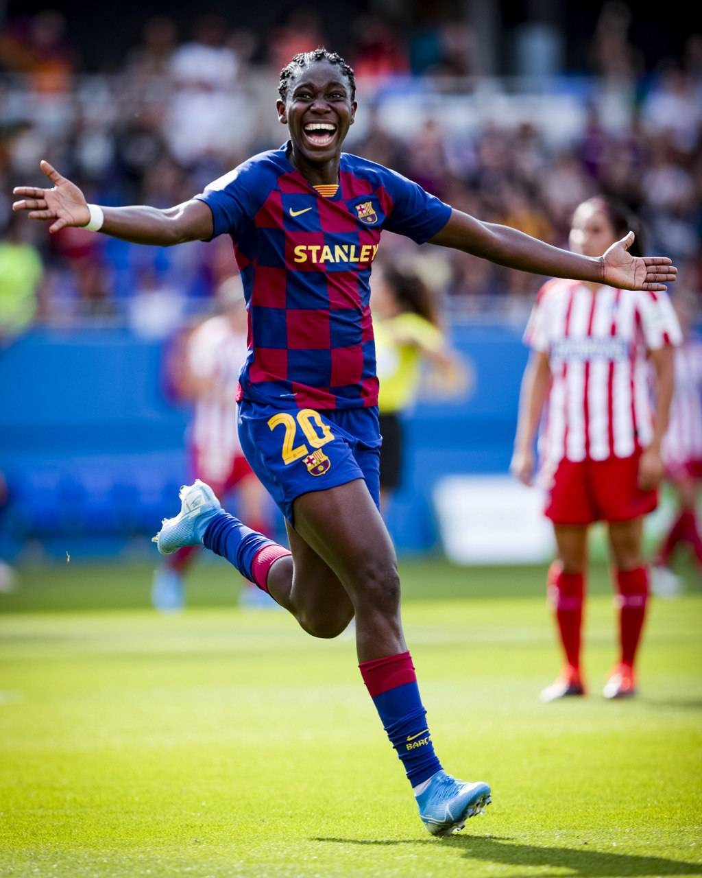 Liga Iberdola: Oshoala On Target In Barcelona Away Win Against Sevilla