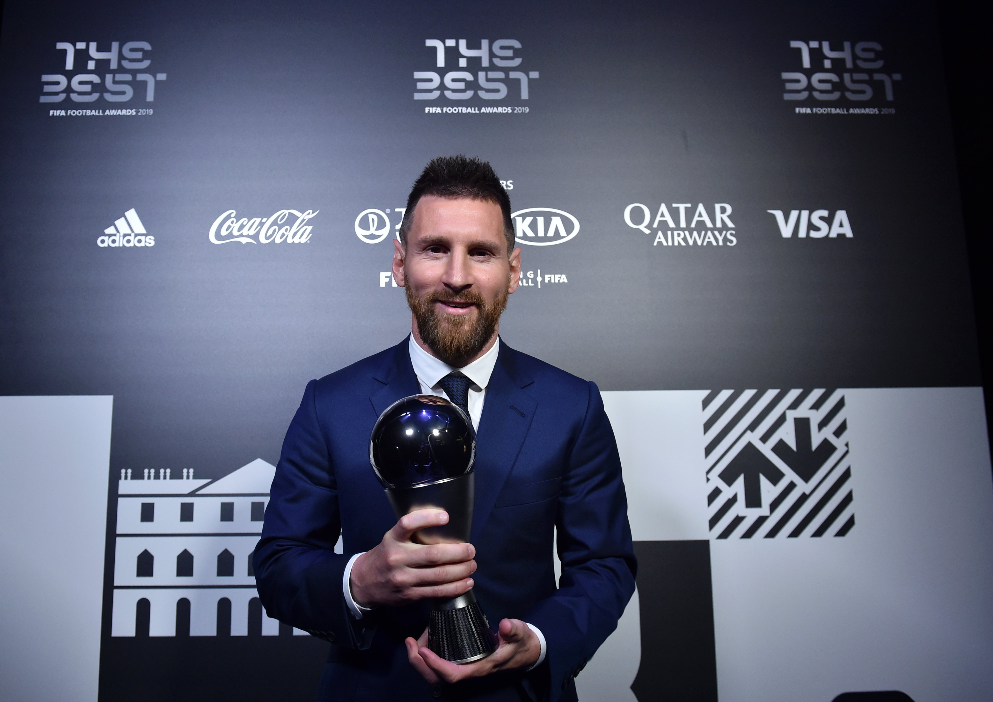 Messi Bags Sixth FIFA Player Of Year Award; Klopp Is Best Coach