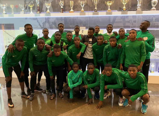 Garba: Golden Eaglets Not Yet Ready  For  2019 FIFA U-17 World Cup