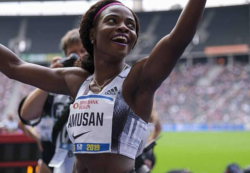 Amusan Races to 2nd Position in Torun, Inches closer to Top spot in 60m Hurdles