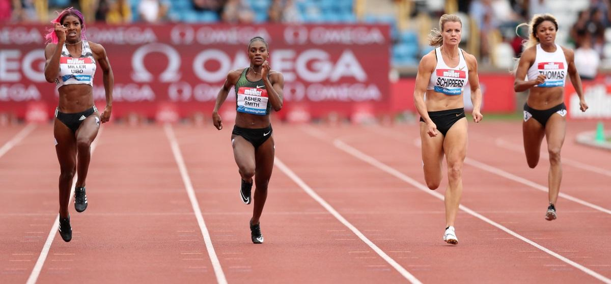 Asher-Smith Claims Silver For GB