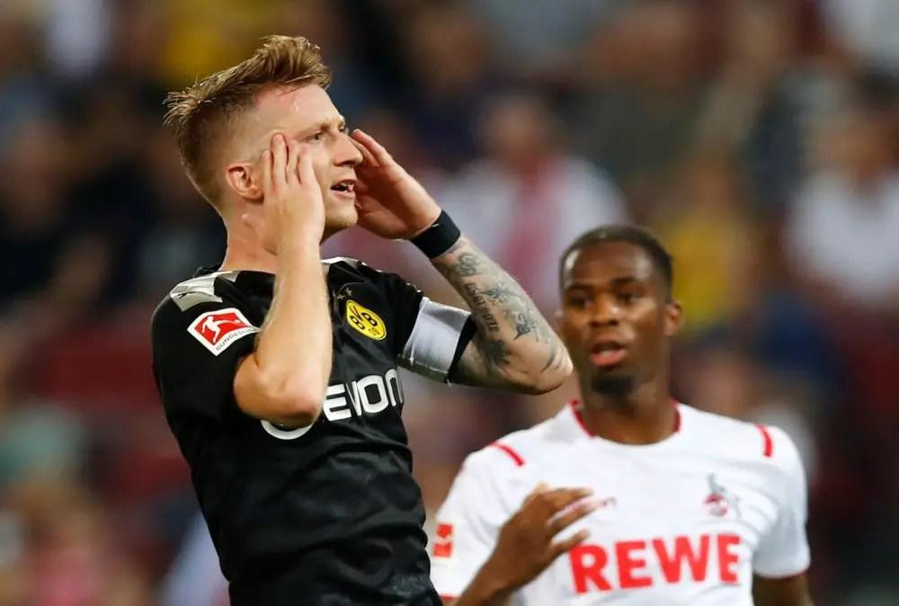 Dortmund Issue Reus Backing
