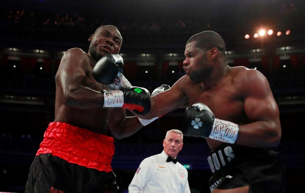 Dubois Claims Commonwealth Title