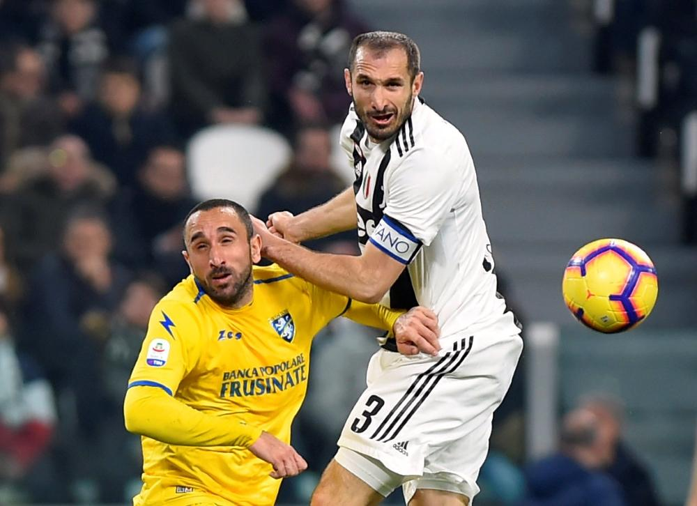 Juve Rocked By Chiellini Injury Blow