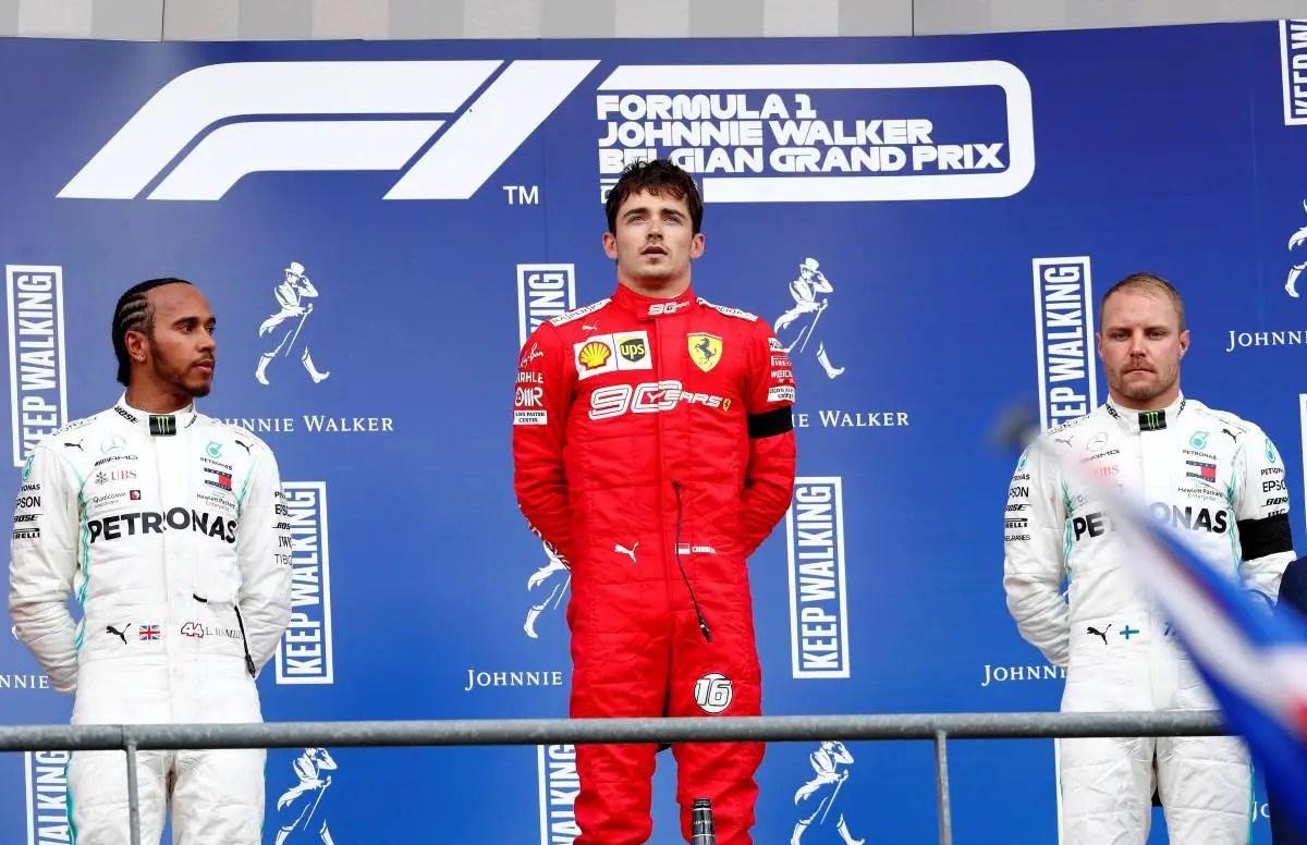 Leclerc Breaks His Duck In Belgium