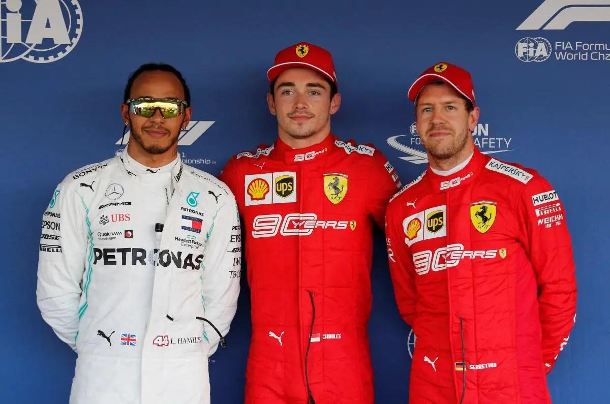 Leclerc On Pole In Sochi