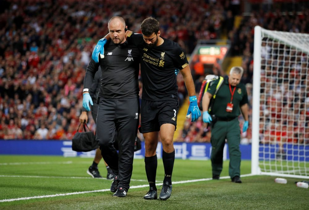 Liverpool Still Coy Over Alisson Return