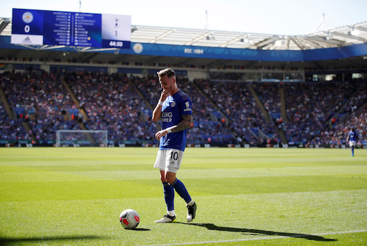 Maddison Loving Life At Leicester City