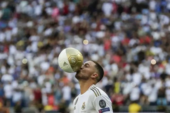 Zidane Urges Caution On Hazard