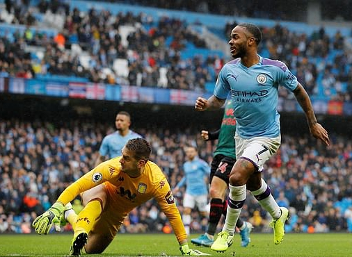 Manchester City Thump Aston Villa 3-0 At Etihad Stadium