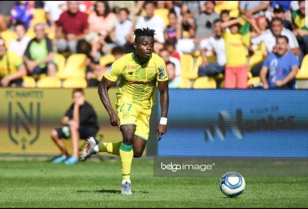 Simon Targets More Goals For Nantes  After Bagging Winner Vs Nice