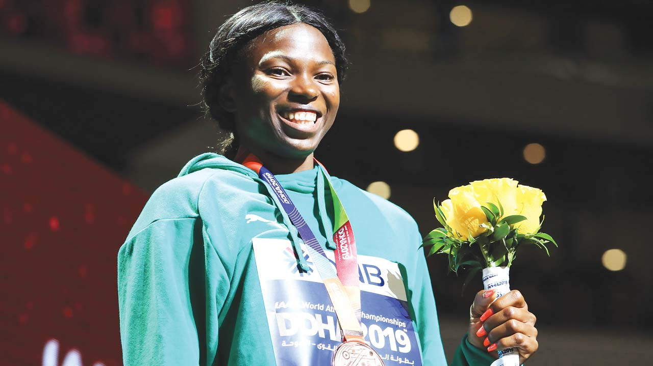 Brume 'Super Excited' To Win Nigeria's Only Medal At 2019 IAAF World Championships