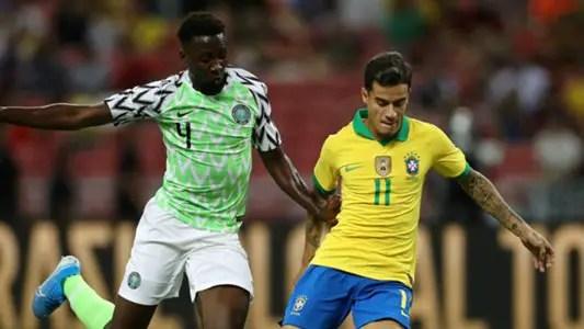 Ndidi  Revels In Super Eagles Draw Vs Brazil