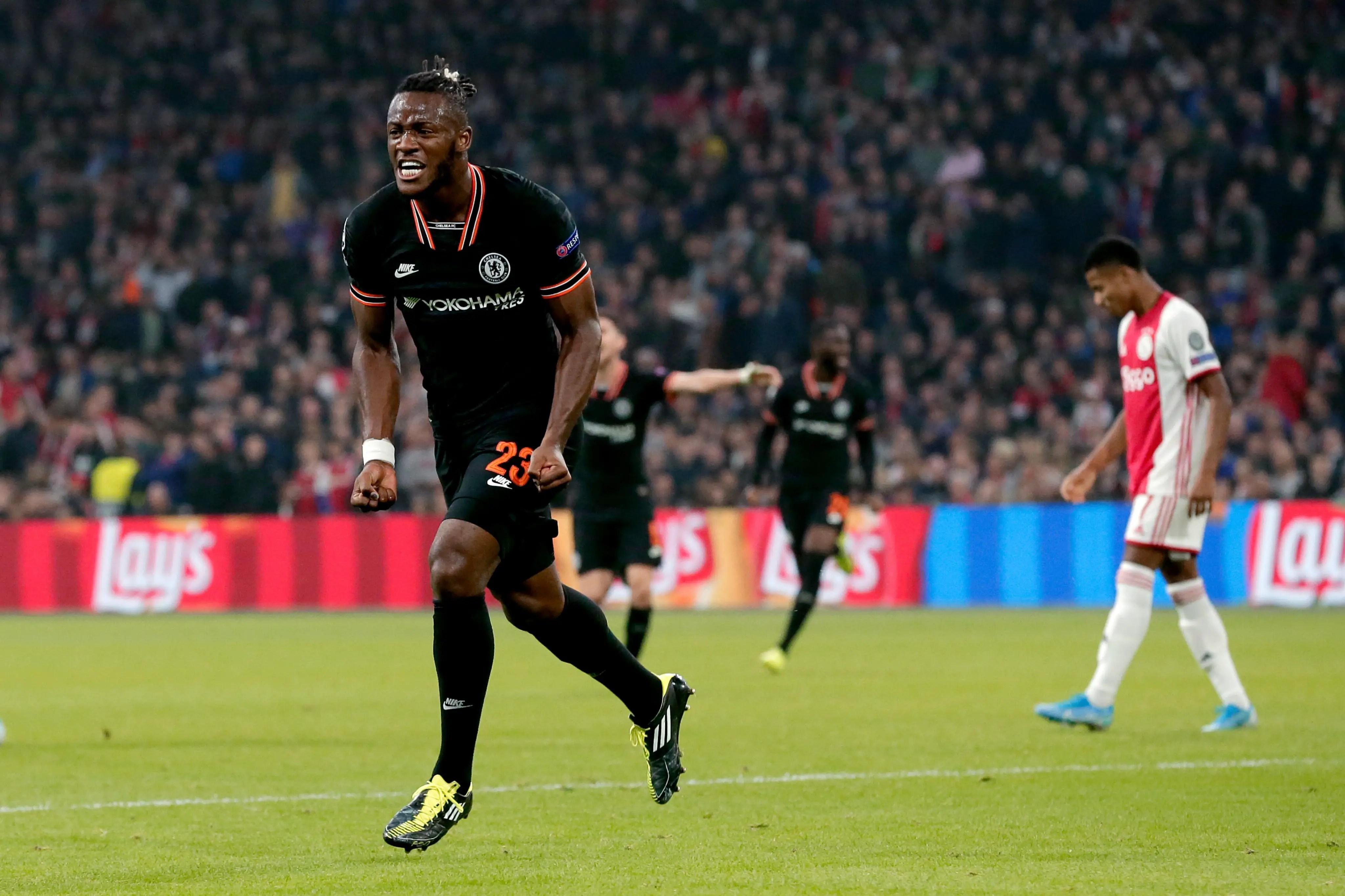 UCL: Super sub Batshuayi Scores Winner As Chelsea Pip Ajax In Amsterdam
