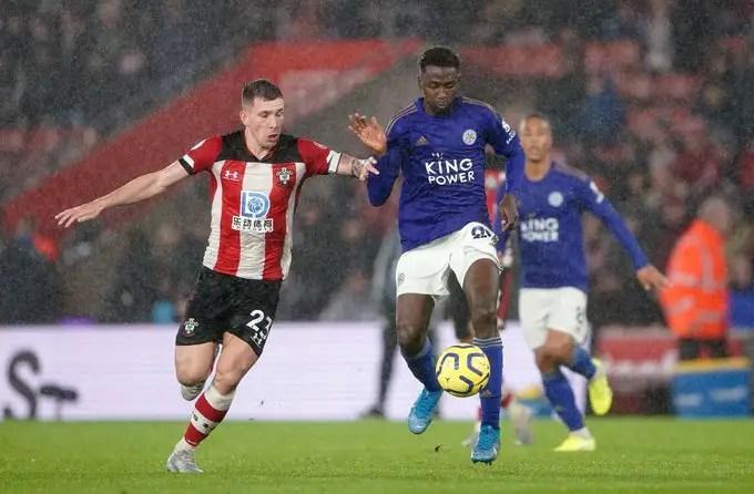 Ndidi Celebrates Leicester  City Record 9-0 Premier League Win  Against Southampton