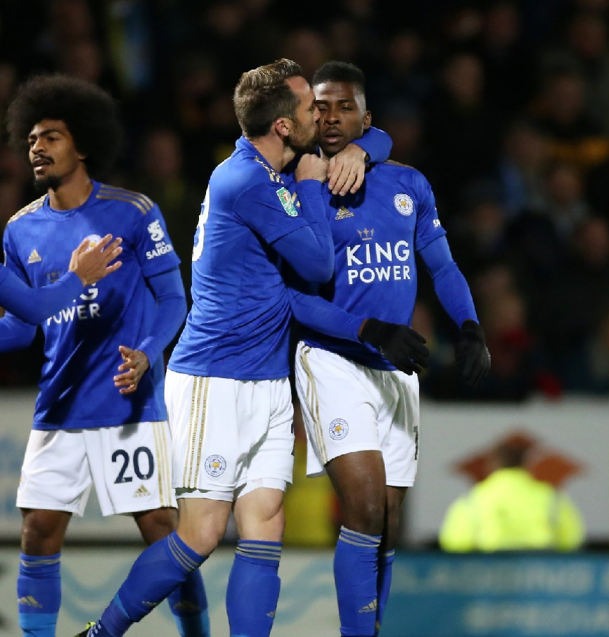 Carabao Cup: Iheanacho Scores In Leicester Win Vs Burton; Iwobi Helps Everton Down Watford