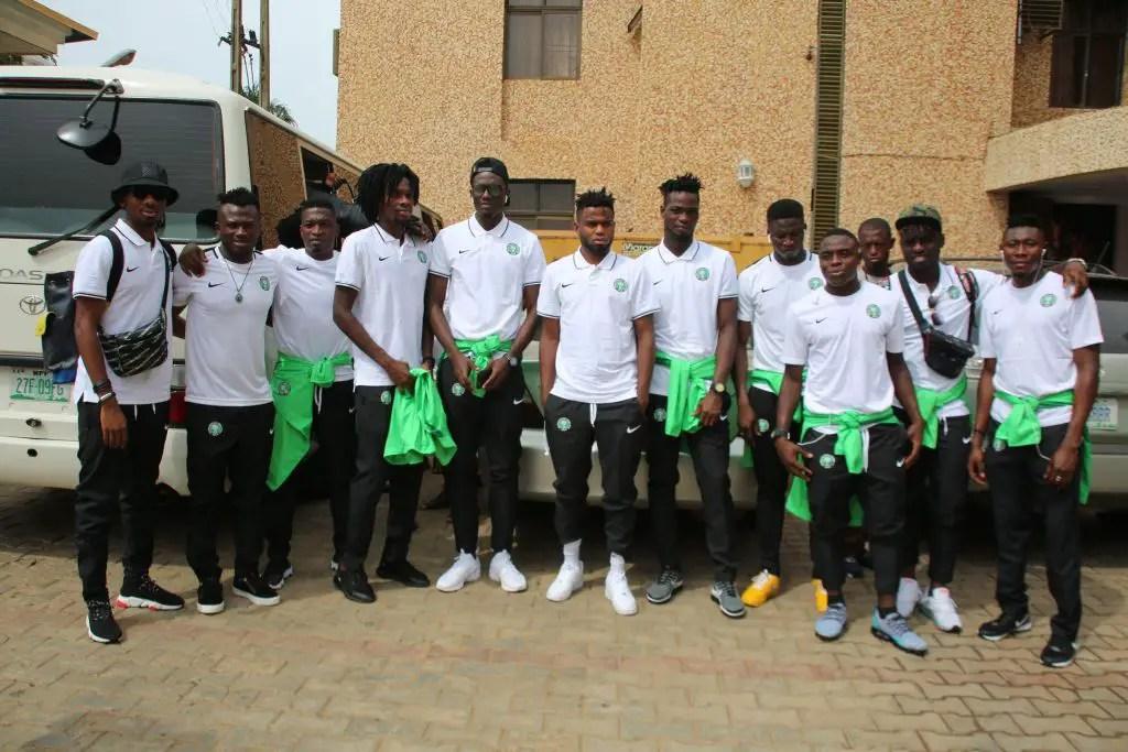 Amapakabo Names Okechukwu, Nwakali,  Awoniyi, Dele-Bashiru 17  Others In Final Squad For U-23 AFCON 2019