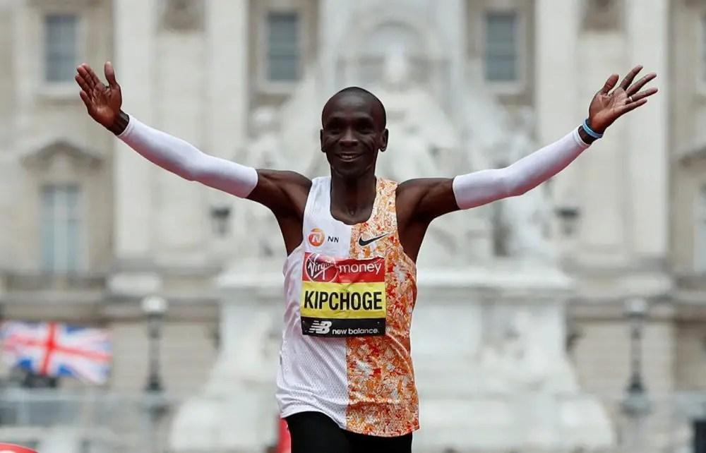Kipchoge Runs Marathon In Sub Two-Hour Time