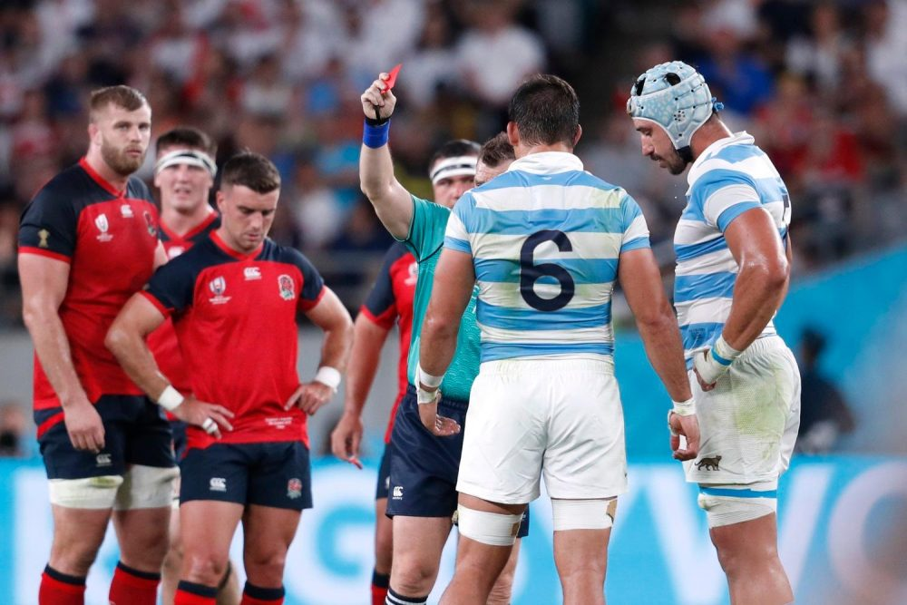 World Cup Over For Argentina Lock Lavanini
