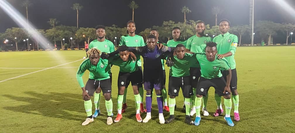 Olympic Eagles Play  Draw With Cameroon In  Pre- U-23 AFCON  Test Game