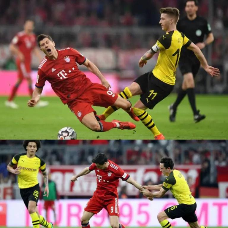 Der Klassiker!  Bayern Vs  Dortmund Tops Bundesliga Matchday 11 Bill