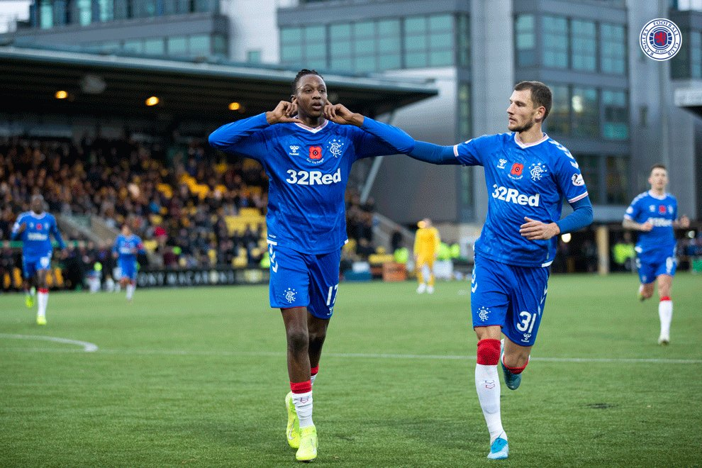 Aribo: Pressure of Playing For Rangers Making Me a Better Footballer