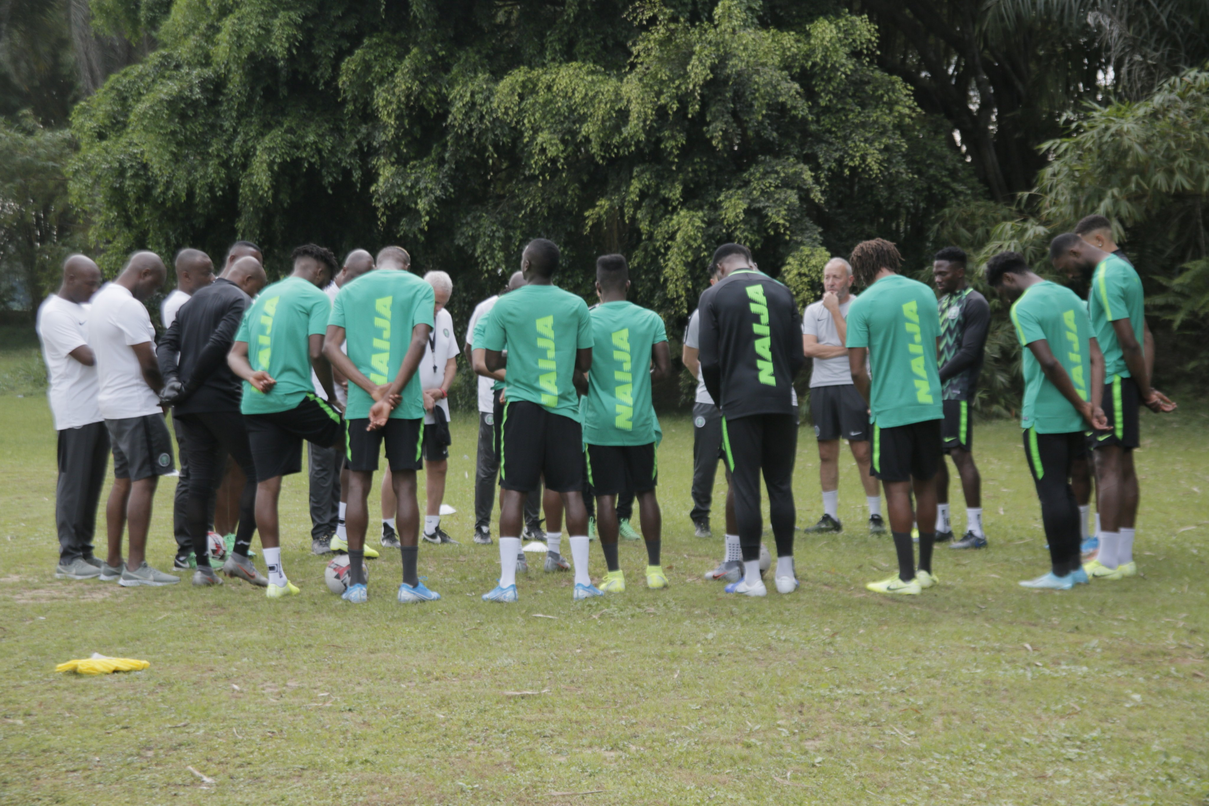 2022 W/C Qualifiers: Etebo, Omeruo, Uzoho Arrive Lagos, 11 Players Now In Camp