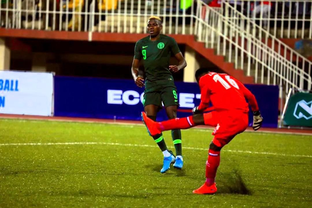 Osimhen Hails Impressive Super Eagles' Showing Vs Lesotho
