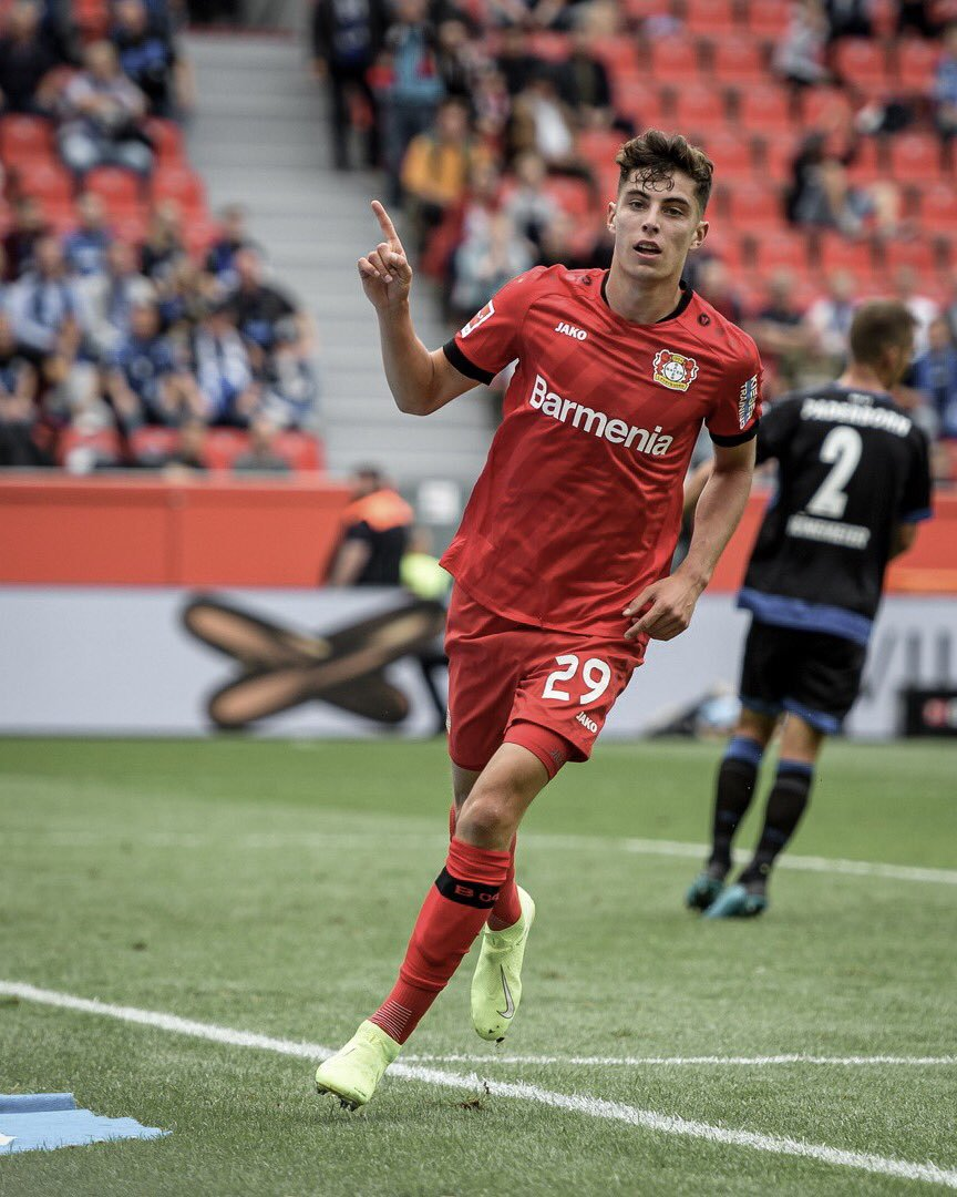 Leverkusen Wonderkid, Havertz: 'I'm Still Shaping Up Playing Football'