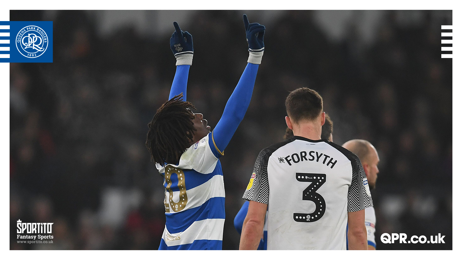 Championship: Eze's Penalty Earns QPR  A Point At Derby