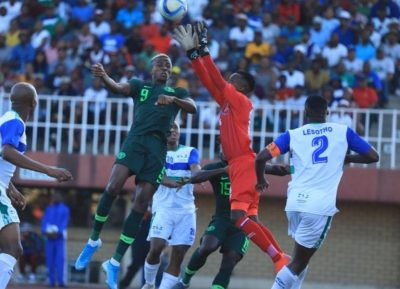 super-eagles-victor-osimhen-alex-iwobi-samuel-chukwueze-the-crocodiles-lesotho-afcon-2021-qualifiers-wilfred-ndidi