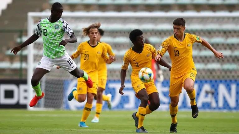 Brazil 2019: Poor Eaglets Lose Dead Rubber Group B Match 2-1 To Resurgent Australia