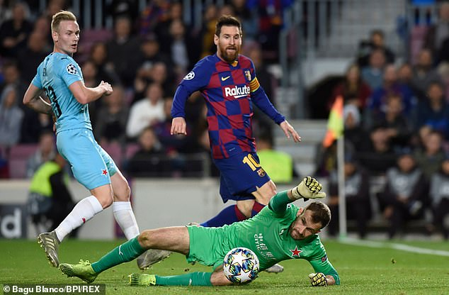 Slavia Prague Keeper Disappointed In Messi And Teammates