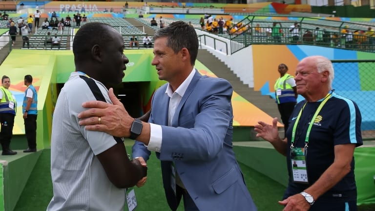 NFF: We Have Not Sacked Golden Eaglets Coach Garba