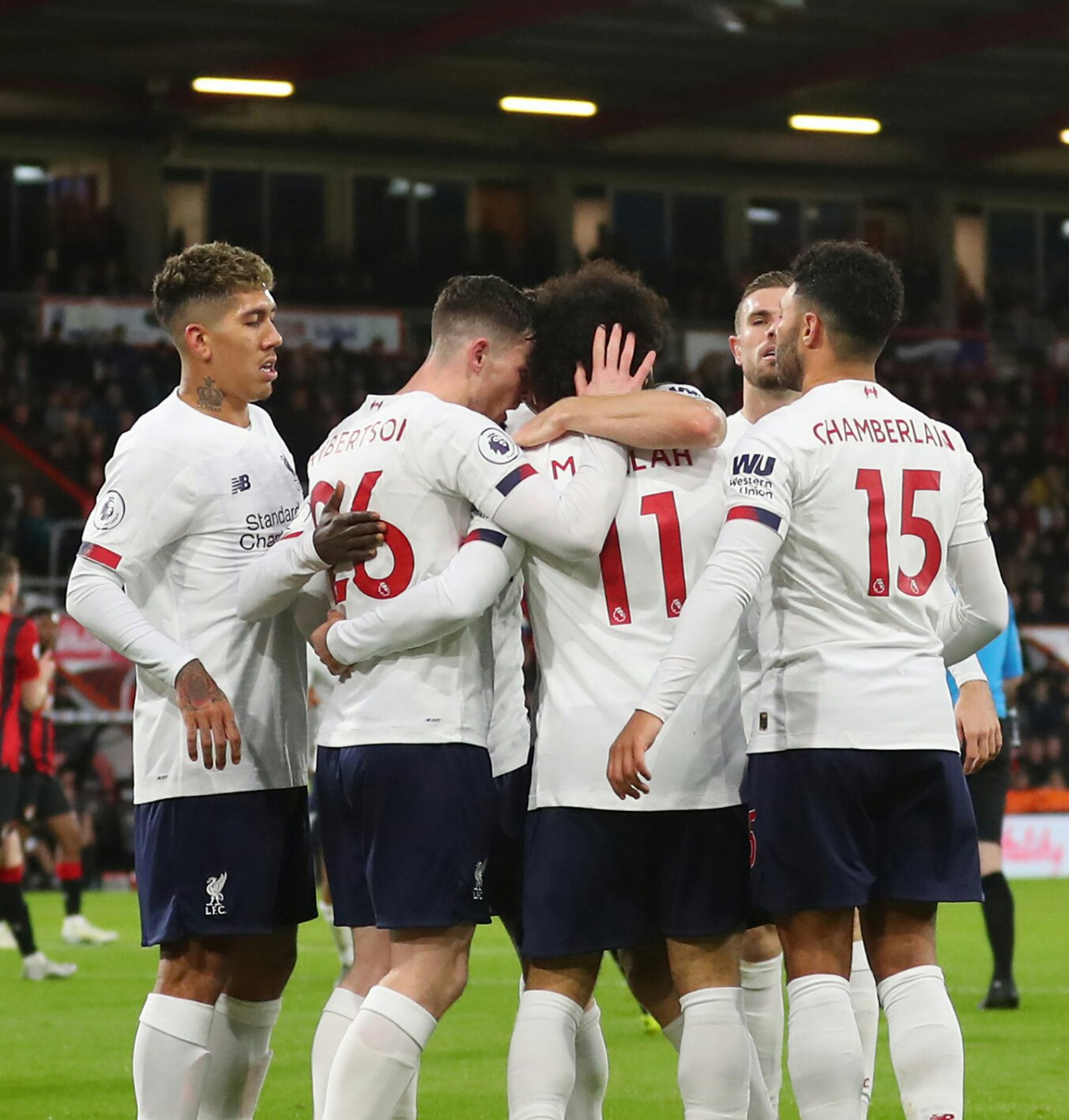 Liverpool Extend Lead With Wiin at Bournemouth As Spurs Maul Burnley 5-0