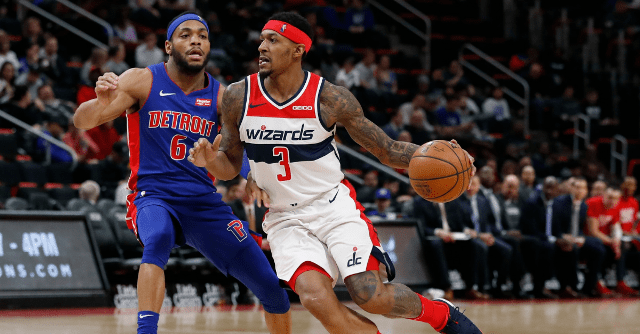 Don't Miss Bradley Beal Facing Pistons At Little Caesars Arena