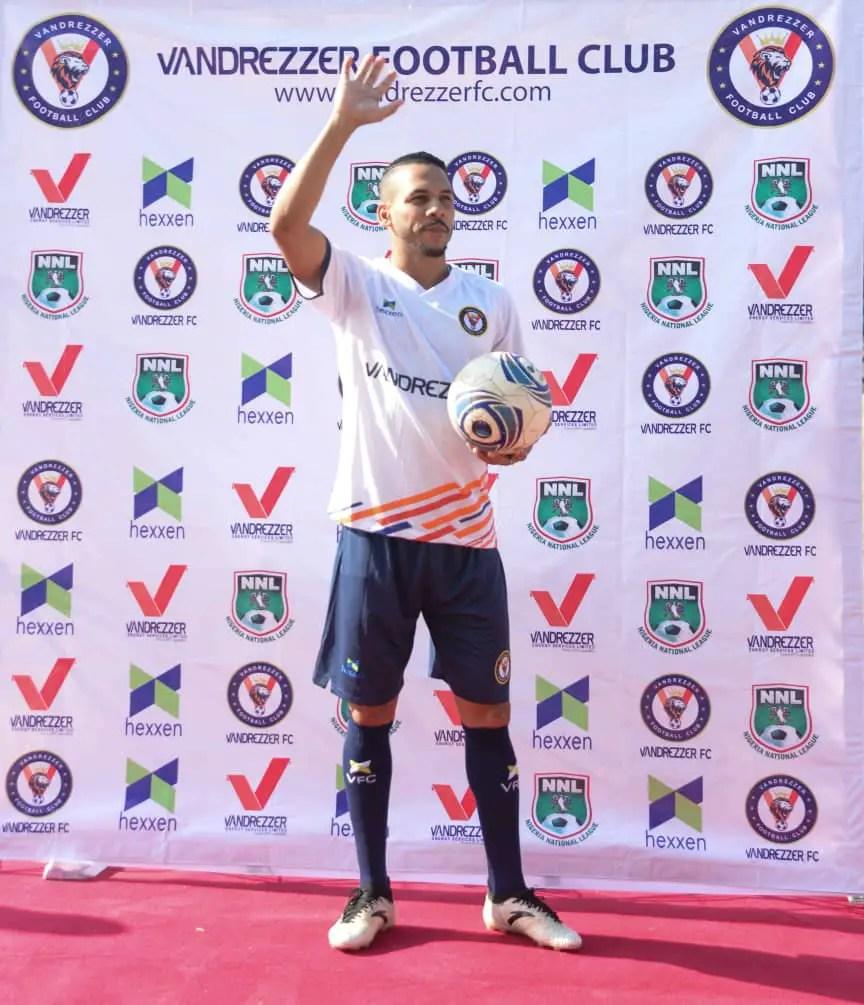 Vandrezzer FC Unveil Brazil Midfielder Alberico Da Silva