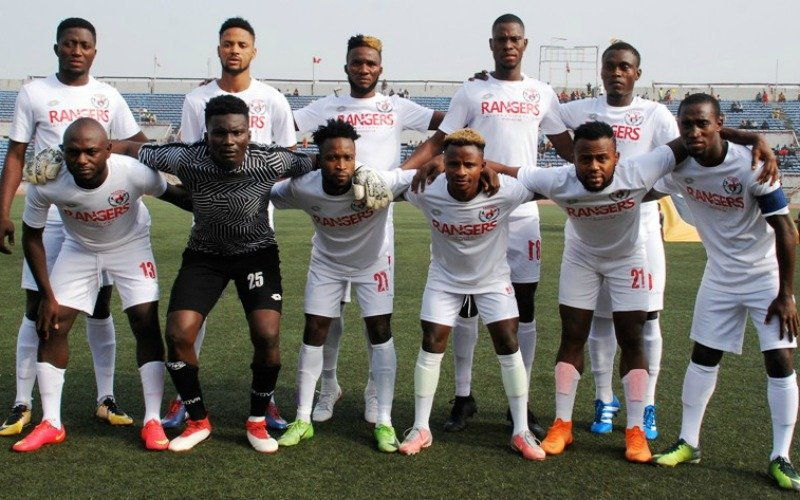 Rangers bring down Pyramids in Cairo, Hassania Agadir through after Enyimba stalemate