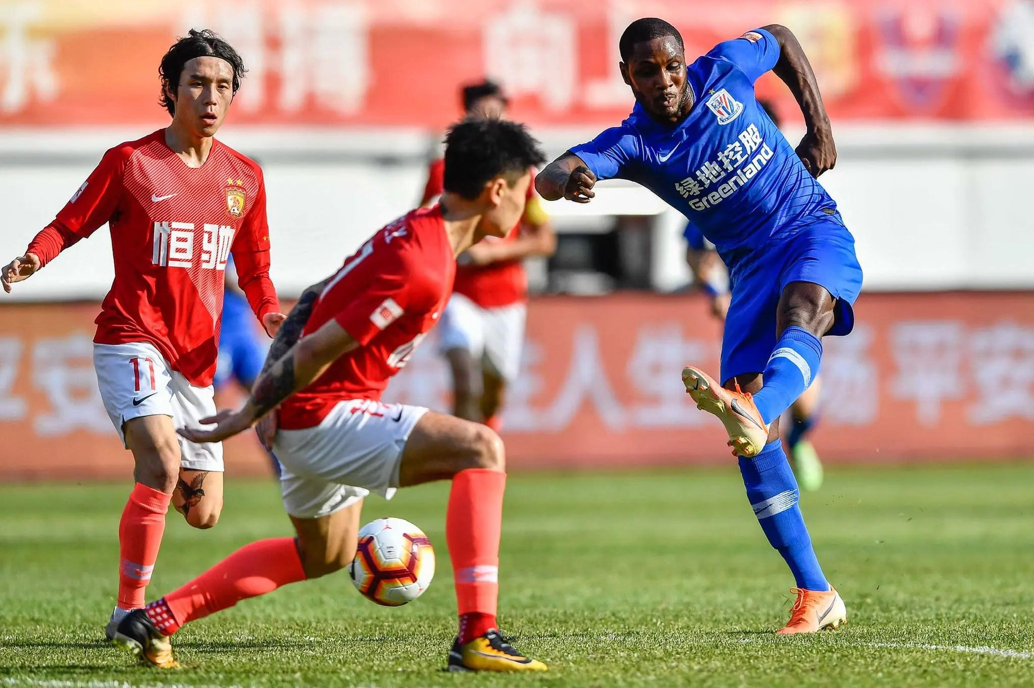 Ighalo Eyes Chinese FA Cup Title With Shangahi Shenhua