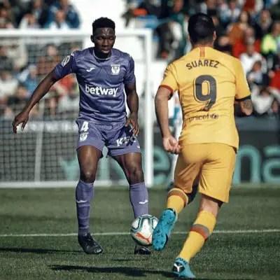 LaLiga: Omeruo, Awaziem  Help Leganes Beat Espanyol